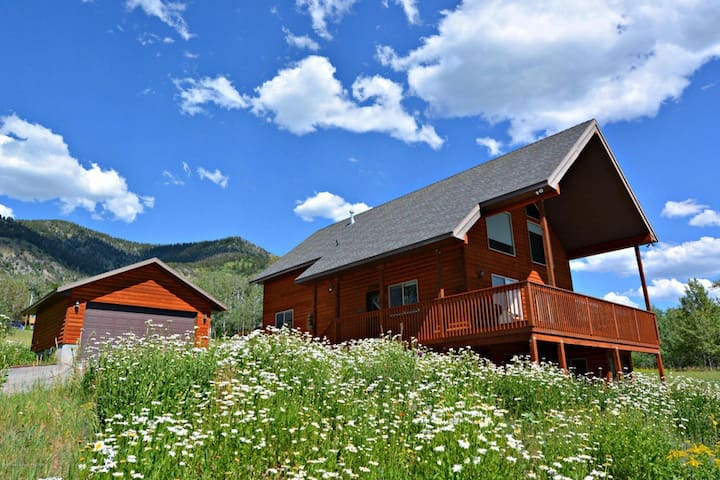 Amazing Family Cabin Overlooking Star Valley! - Star Valley Ranch - Casa