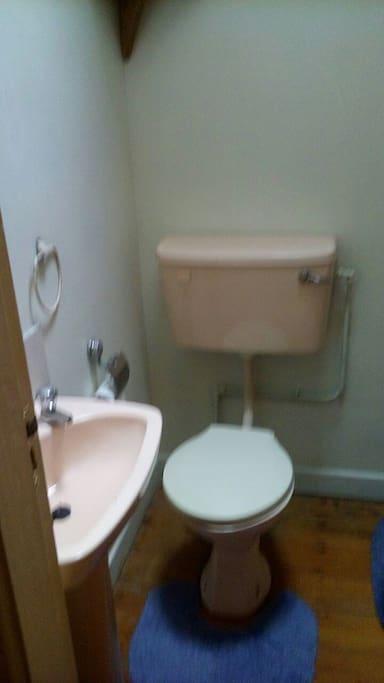 Toilet/shower room.