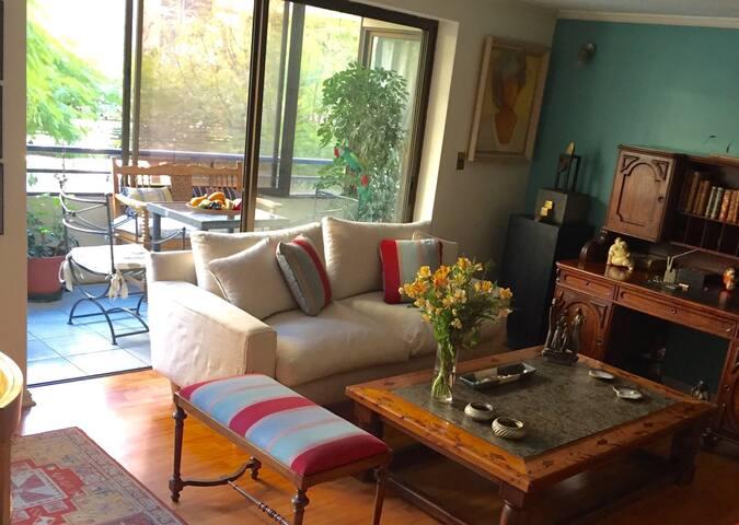 Quiet room in a cozy home, Vitacura - Vitacura - Appartamento