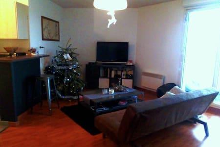 Appartement T2  dans résidence calme avec piscine - Frouzins - Wohnung