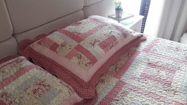 Quarto suíte c/ 1 cama King - varanda