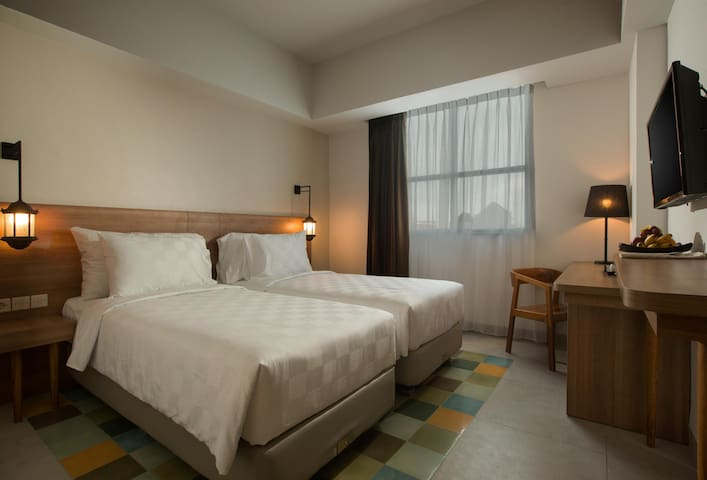 Cute And Cozy Twin Deluxe At Yogyakarta