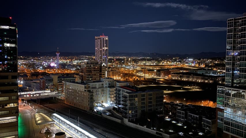 The Best Location and View in Denver! Sleeps 4