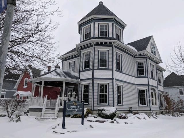 Barry Street Hideaway(downtown Olean-entire house)
