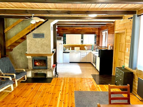 Drew. dom 119 m², działka 5320 m² w Puszczy Białej