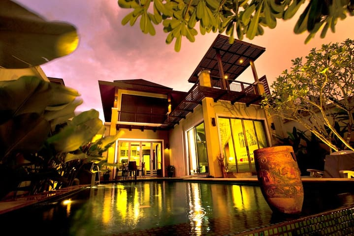 3Bed Private Pool Villa,Near Beach,Clubs,Spa,Golf. - Phuket - Villa