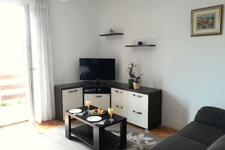 Spacious apartment 150 m from sea (Povile)