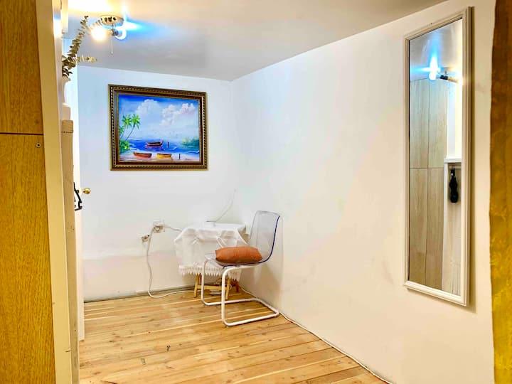 Cozy Enclave Room