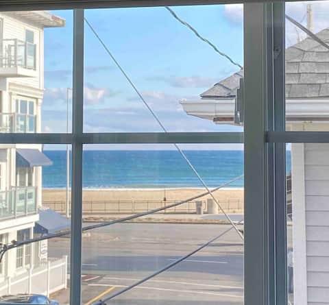 Ocean View - Steps to the Beach!
