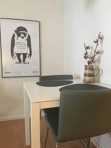 Studioapartment in the heart of Aarhus