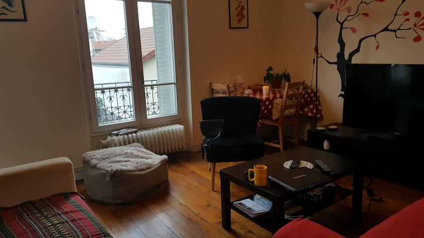 Chambre cosy aux porte de Paris! - Maisons-Alfort - Apartment