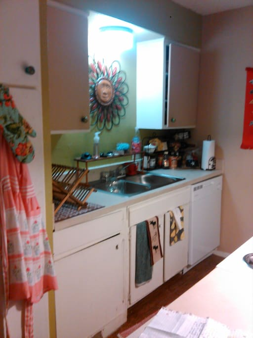 Other side of the kitchen!