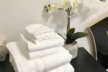 Fresh clean towels