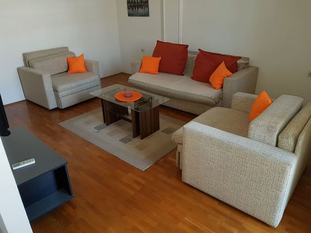 Great 1BD apartment in city center - Niš - Daire