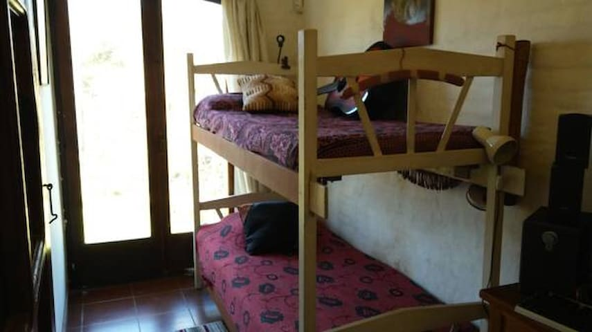 """""""Camarote"""", habitación privada en casa de familia."""