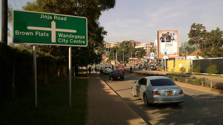 Minutes away from Kampala CBD
