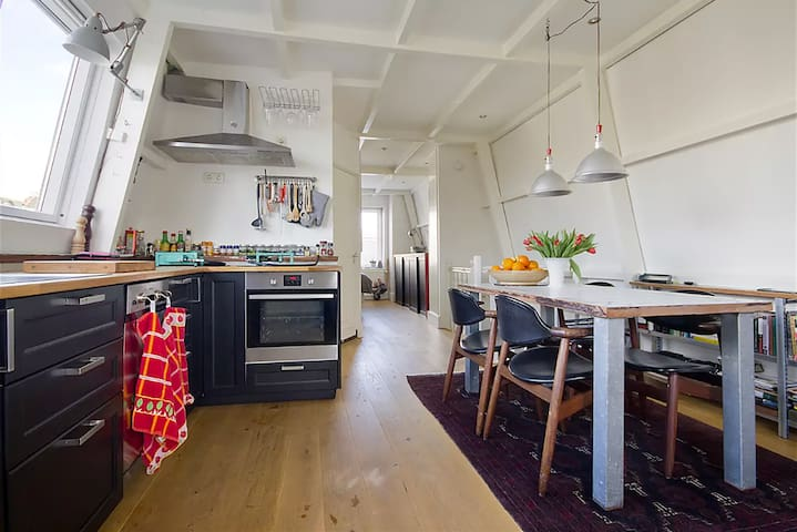 Cozy loft on the canal in Amsterdam - Amsterdam - Apartemen
