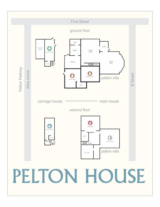 Pelton Property Map