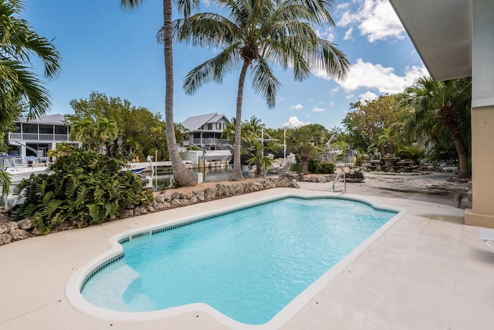 Waterfront, family-friendly home w/ private pool & easy Gulf and ocean access!