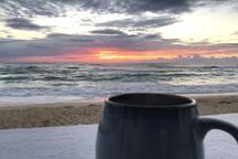 Coffee and Sunrise