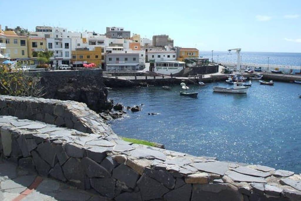 Los Abrigos - fishing village nearby 3km distance