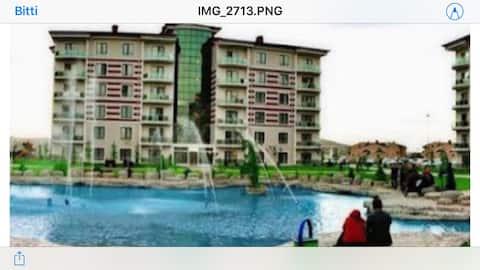 Afyon Gazlıgölde 10 günlük devremülk full eşyalı