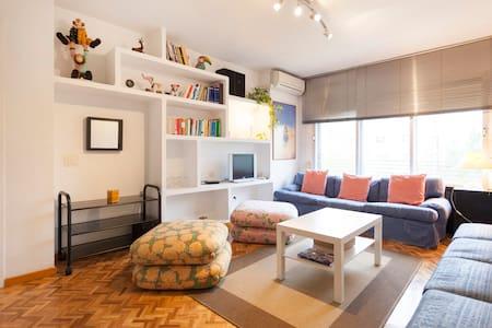 Piso de 70m2 y 2 habitaciones muy luminoso, Madrid - Madrid - Apartment