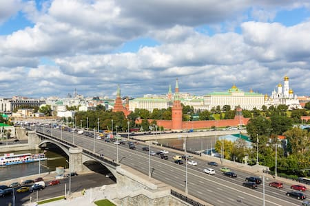 Amazing Kremlin view 2 bedroom apartment - Moskva - Apartemen