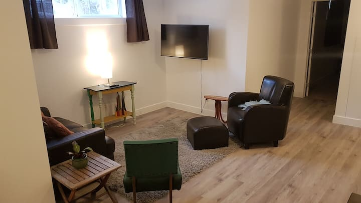 Spacious 2 Bedroom Suite Close To The  University