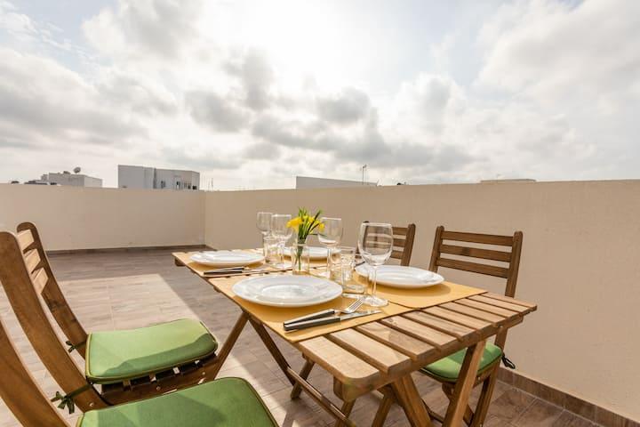 Sunny penthouse in Msida☀️Malta