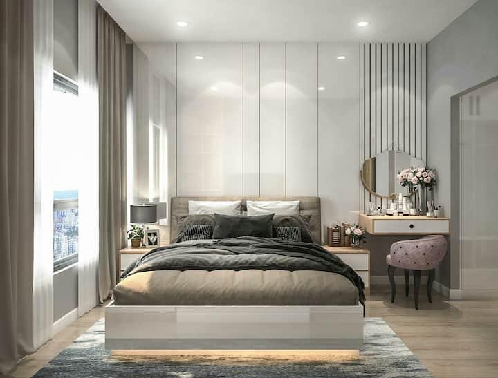 Cho thuê căn hộ 2PN tại dự án CHCC Kingdom101 Q10
