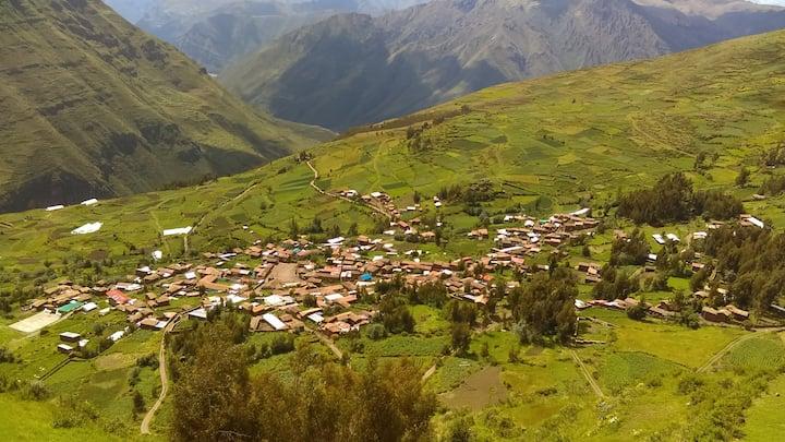 El Eden de Huatta. Casa campestre