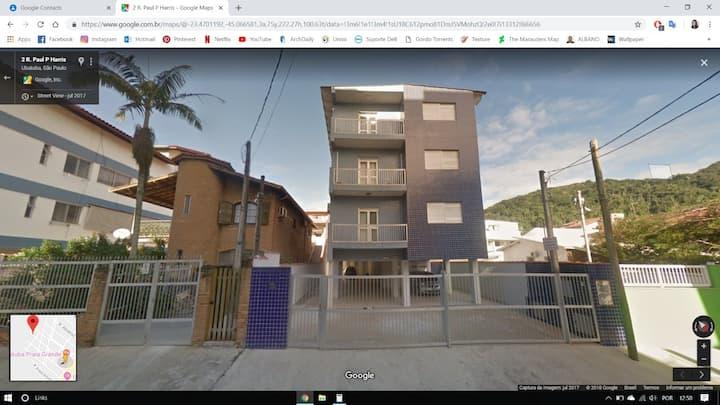 Apartamento 50m da Praia Grande- Ubatuba.