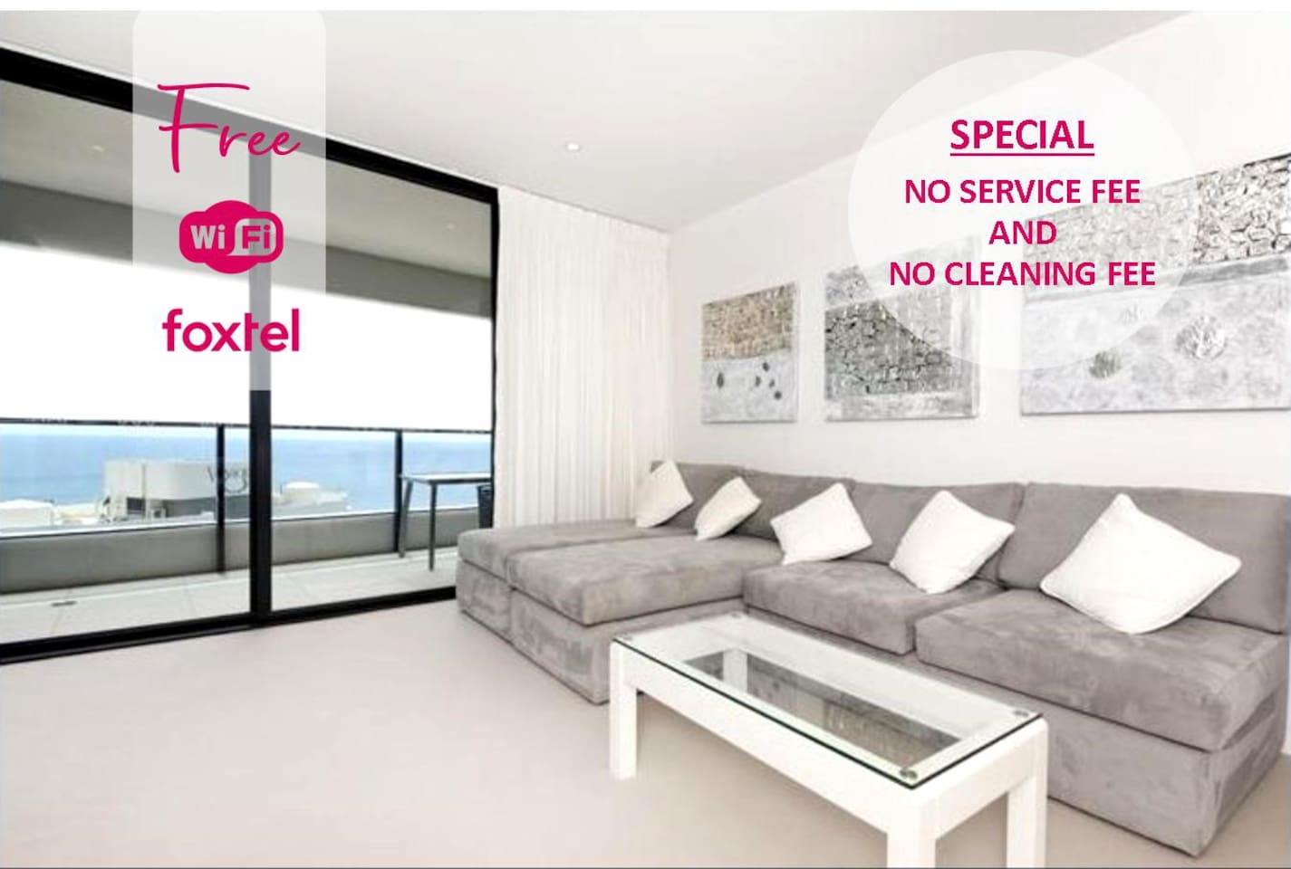 Gold Coast Luxury Resorts welcomes you to our Oracle Apartment.  We don't charge our guests a SERVICE FEE or CLEANING FEES.. Because we love our guests :)