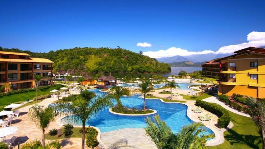 Apto 2 Quartos em Resort Angra dos Reis