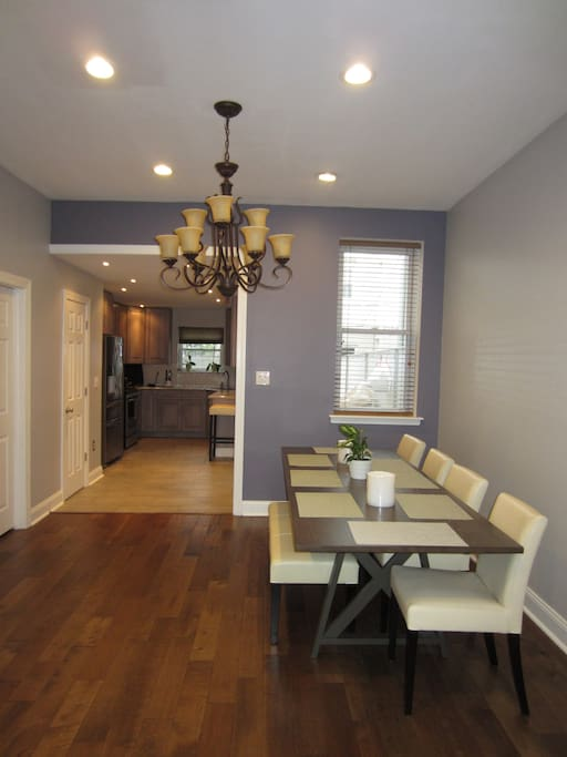 Enjoy eating in your spacious dinning area
