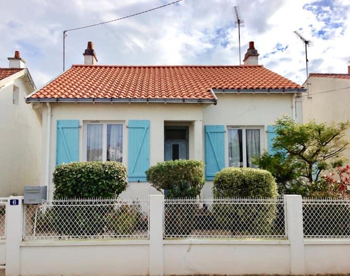 Maison à 2 pas de la plage