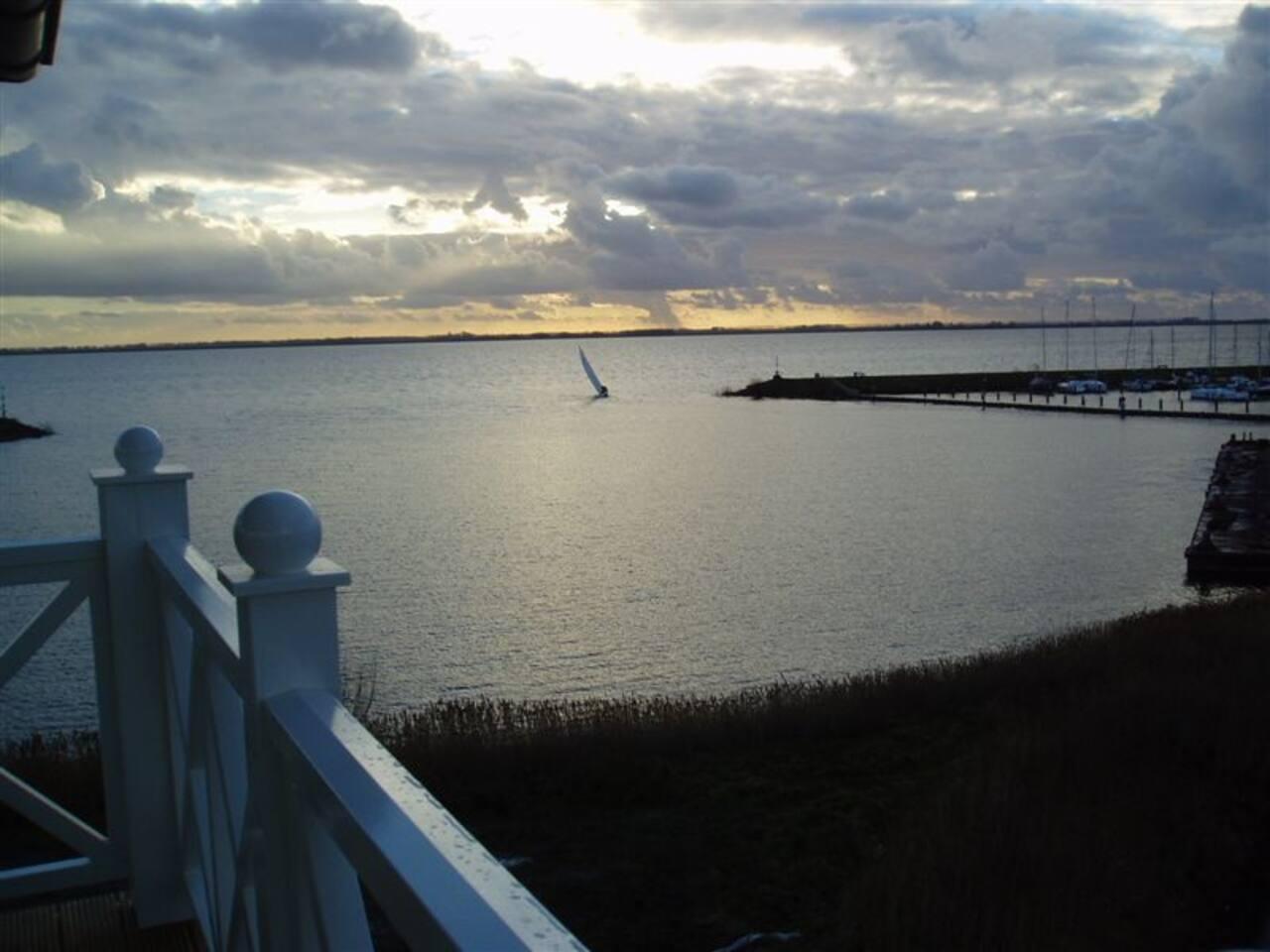 Uitzicht Entree Helius haven