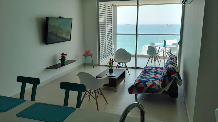 Hermoso Apartamento con la mejor vista - Santa Marta - Apartamento