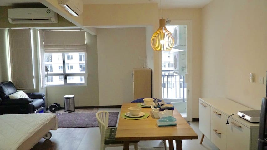 Apartment Modern 2Bed Room Size Studio