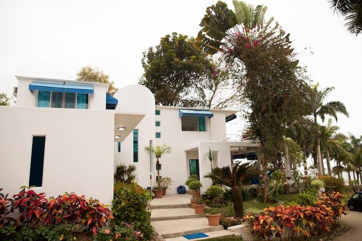 Mediterranean Beachfront House