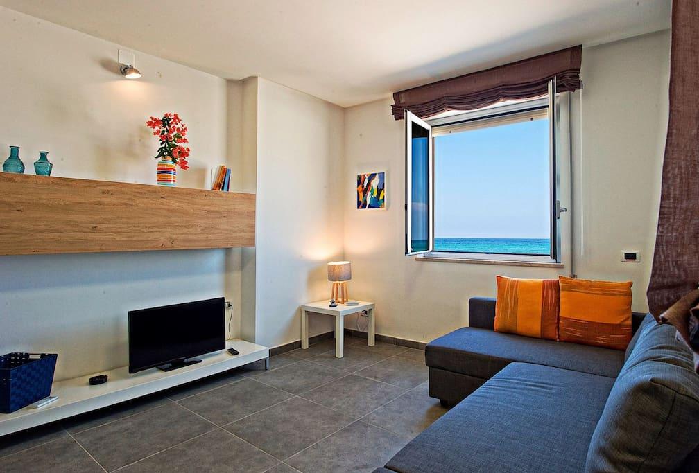 Casa sul mare appartamenti in affitto a trapani sicilia for Appartamenti arredati in affitto a trapani