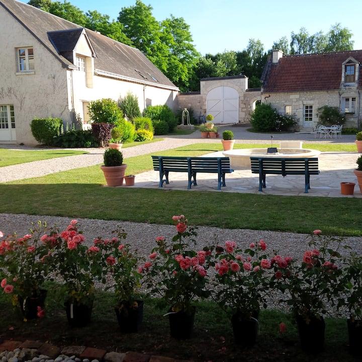 Gite 21p LOCHES 37 Piscine Proche Zoo de Beauval