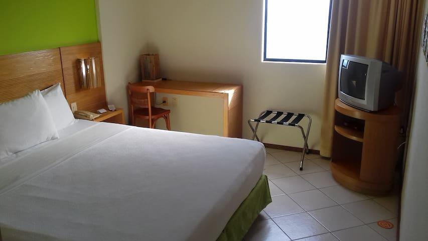 Flat mobiliado perto da praia de Ponta Negra - Natal - Serviced apartment