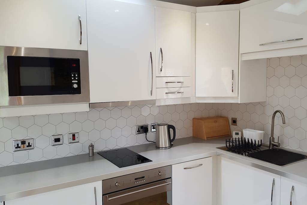 Modern fully equipped Kitchen Area.