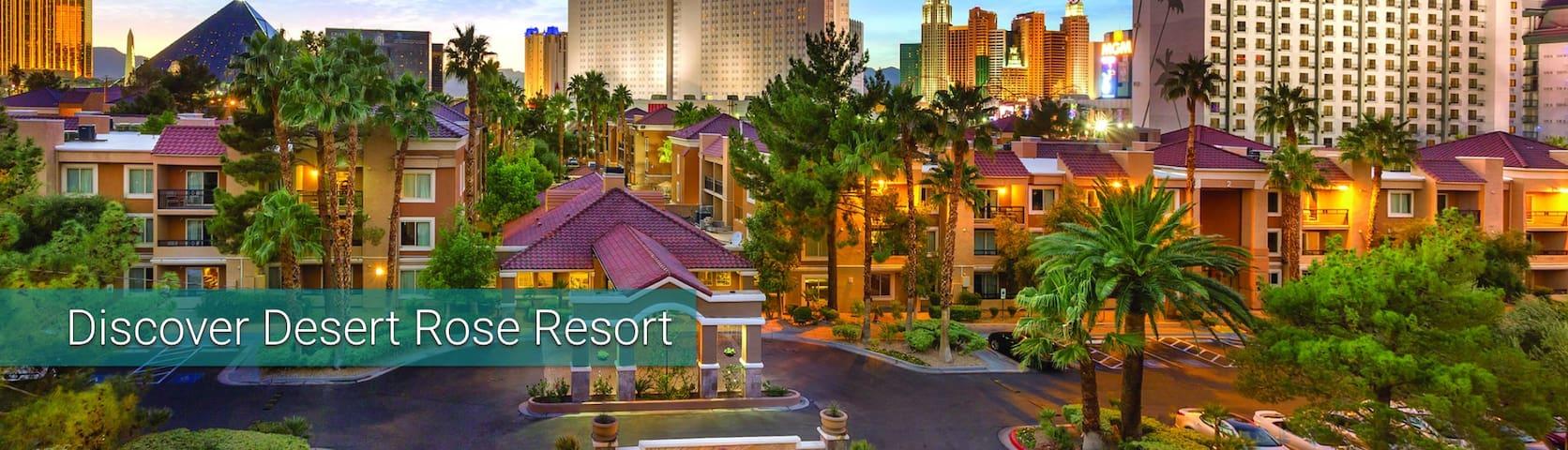 Las Vegas: Desert Rose Resort-1 bedroom