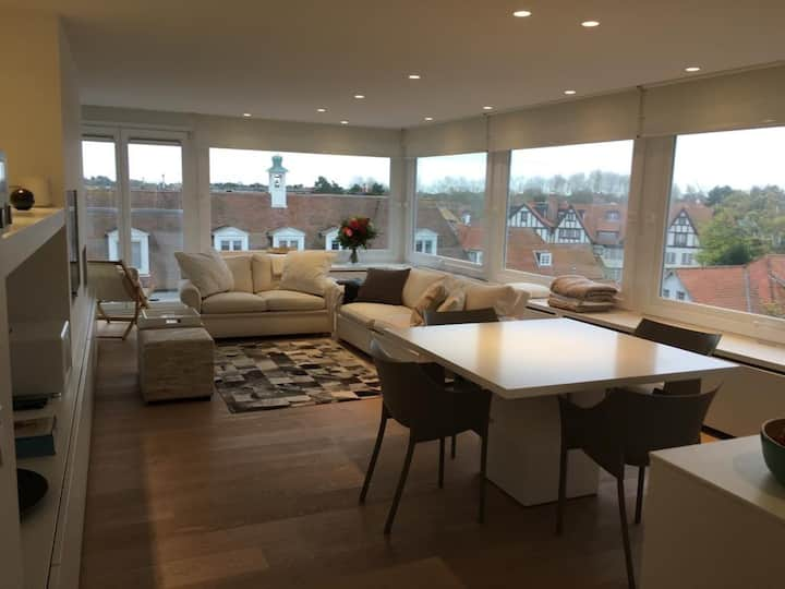 Cosy modern two bedroom apartment in Knokke Zoute