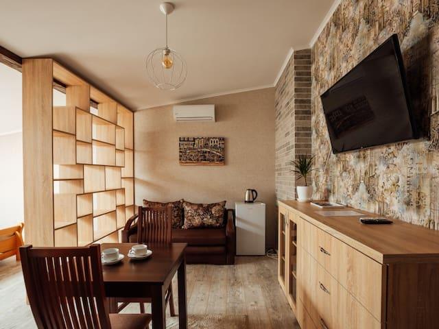 "19-B Deluxe room. Apartments premium in the historic center ""GALAGOV"""