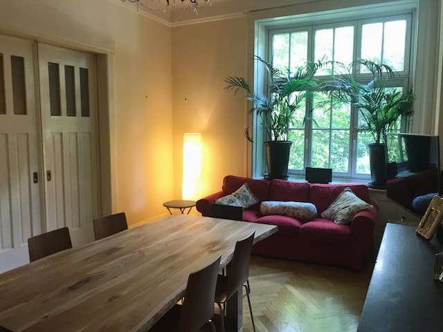 Nice Room in large Apartment in Hamburg-Eppendorf