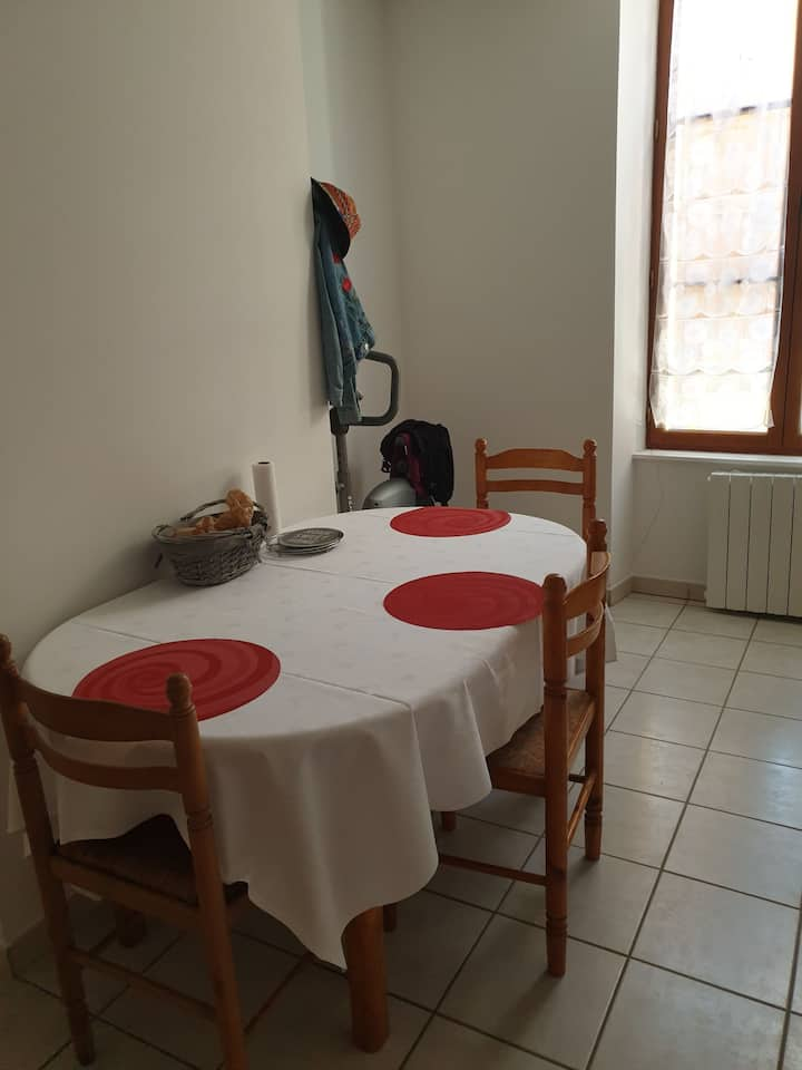 Appartement à 20 min de Bourges